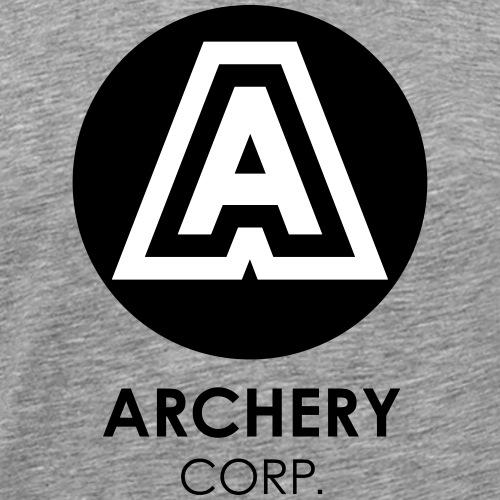 ARCHERY CORP - Maglietta Premium da uomo