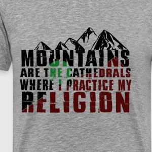 Mountains climbing mountains - Men's Premium T-Shirt