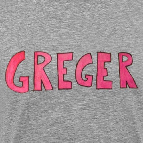 Greger - Premium-T-shirt herr