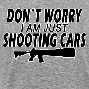 Shooting Cars - Männer Premium T-Shirt
