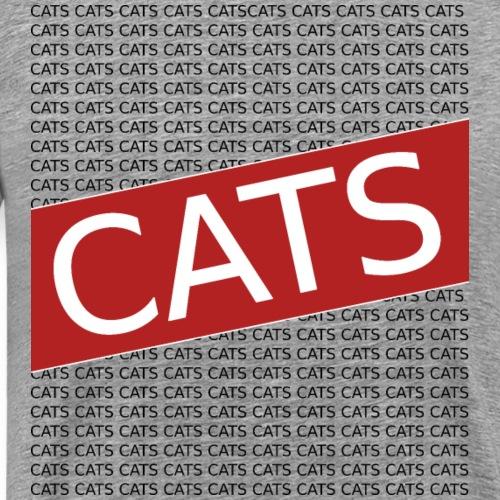 CATS CATS CATS CATS - Männer Premium T-Shirt