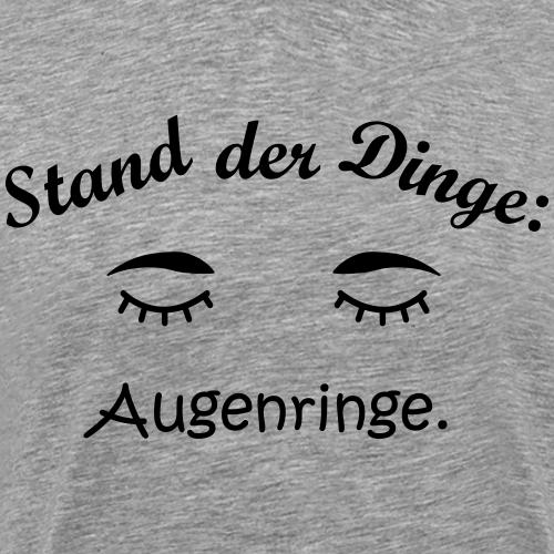 Augenringe. - Männer Premium T-Shirt