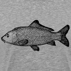 carp fishing - Men's Premium T-Shirt
