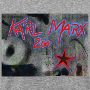 marx grafitti - Men's Premium T-Shirt