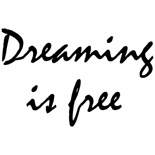 Rêver est gratuit - T-shirt Premium Homme