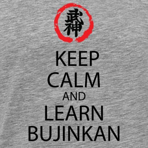 KEEP KALM BUJINKAN - Camiseta premium hombre