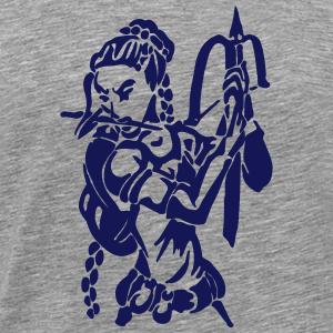 Onze voleur avec arbalète et poignard fantaisie MMORPG - T-shirt Premium Homme