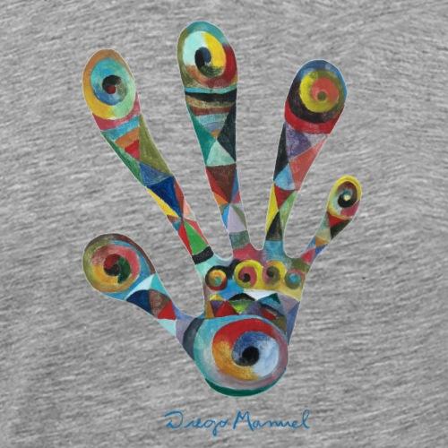 La mano 2 - Camiseta premium hombre
