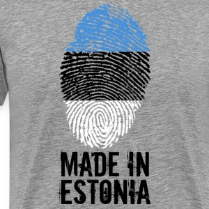 Gemaakt in Estland / Made in Estland / Eesti - Mannen Premium T-shirt