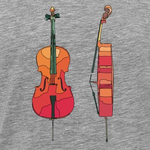 cello1 - Männer Premium T-Shirt