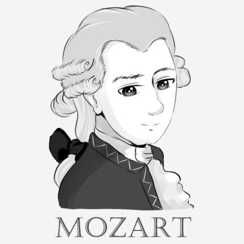 Mozart im Chibi Style - Männer Premium T-Shirt