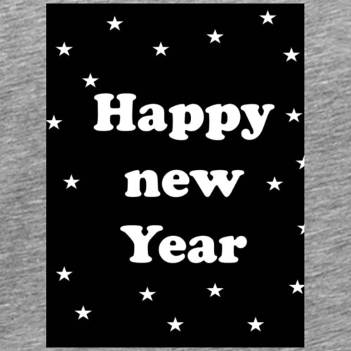 Happy new Year with star - Männer Premium T-Shirt