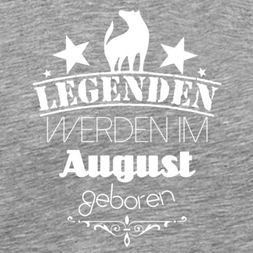 August - Männer Premium T-Shirt