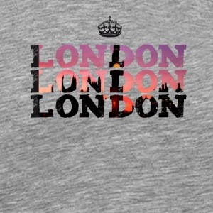 london England krone brexit big ben UK trip touris - Männer Premium T-Shirt