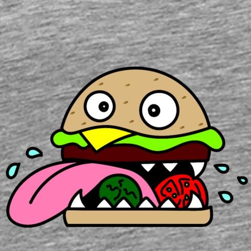 Crazy Burger - Männer Premium T-Shirt