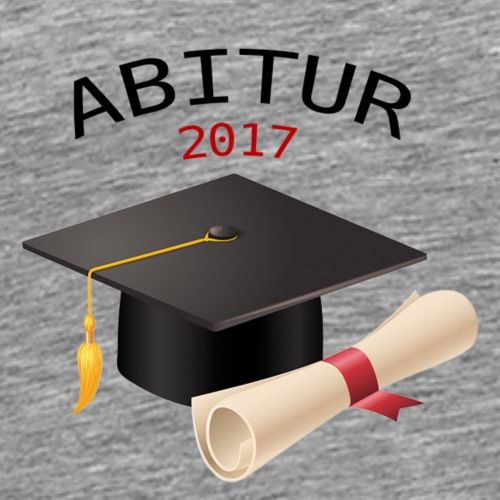 ABSCHLUSS ABITUR 2017 - Männer Premium T-Shirt