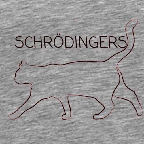 Schrödingers Katze - Männer Premium T-Shirt