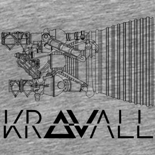 Kravall Black - Men's Premium T-Shirt
