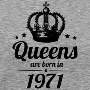 Queen 1971 - Men's Premium T-Shirt