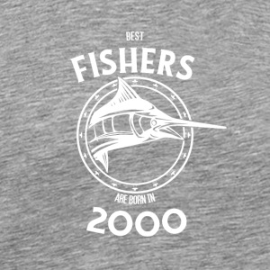 Present for fishers born in 2000 - Men's Premium T-Shirt