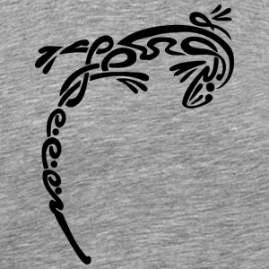 Cool tribal firben - Herre premium T-shirt
