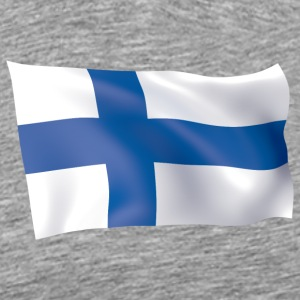 flag of Finland - Men's Premium T-Shirt