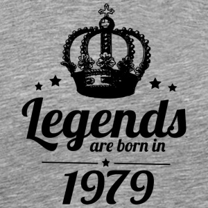 Legends 1979 - T-shirt Premium Homme