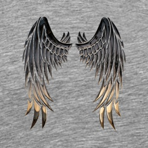 Angelwings - Premium T-skjorte for menn