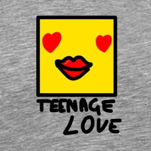 Self Picture Girl: Teenage Love - Men's Premium T-Shirt