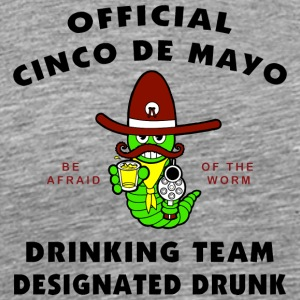 Cinco de Mayo Eget Drunk - Premium T-skjorte for menn