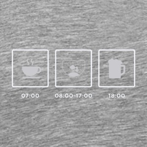 Breakfast, Aquarium, Feierabend - Men's Premium T-Shirt