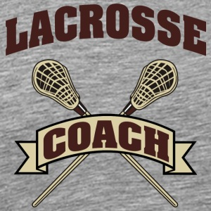 Lacrosse Coach - Men's Premium T-Shirt
