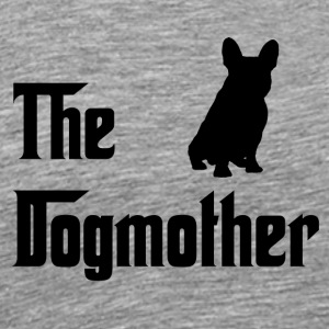 Dogmother Svart - Premium T-skjorte for menn