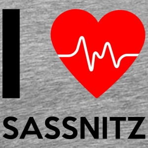 I Love Sassnitz - I love Sassnitz - Men's Premium T-Shirt