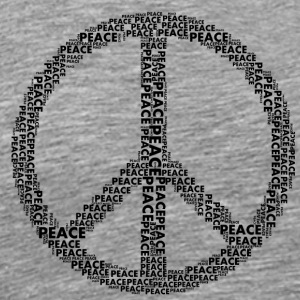 PEACE statement design - Men's Premium T-Shirt