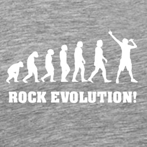 Singing Evolution, gift for singer - Men's Premium T-Shirt