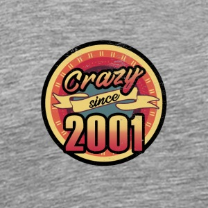 Gift for the 16th birthday - vintage 2001 - Men's Premium T-Shirt