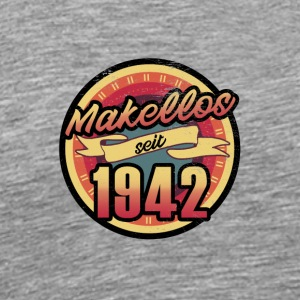 Gift for the 75th birthday - vintage 1942 - Men's Premium T-Shirt