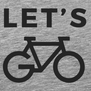 LET'S GO BIKE - Men's Premium T-Shirt