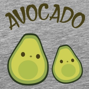 Avocado couple - Men's Premium T-Shirt