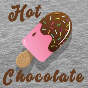 Hot Chocolate Ice - Premium-T-shirt herr