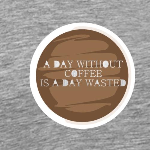 coffee - Premium-T-shirt herr