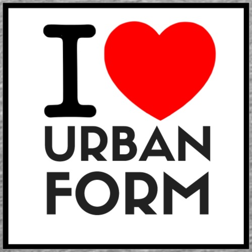 I LOVE URBAN FORM - T-shirt Premium Homme