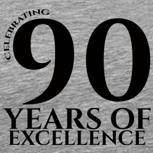90. Fødselsdag: Fejring 90 Years Of Excellence - Herre premium T-shirt