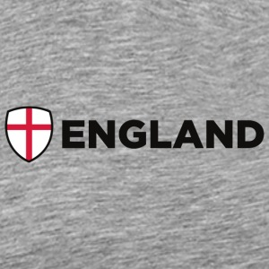 National Flag Of England - Herre premium T-shirt