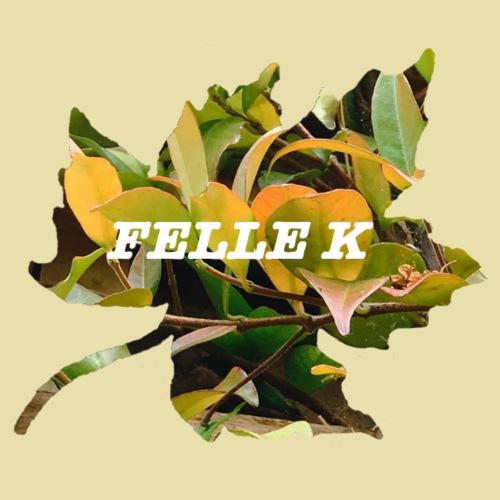 Felle K logo in white text - Men's Premium T-Shirt