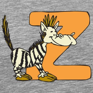 Z zebra - Men's Premium T-Shirt