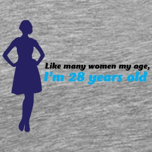 Forever Youthful 28 ans Young! - T-shirt Premium Homme