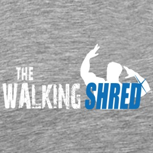 The Walking Shred - Herre premium T-shirt