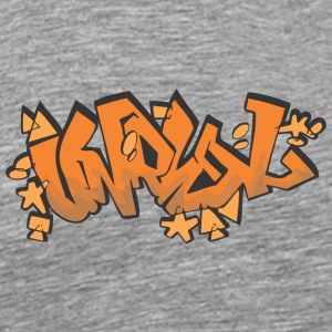 unreal graffiti - Men's Premium T-Shirt